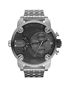 Diesel Men's Stainless Steel with Black Chronograph Watch
