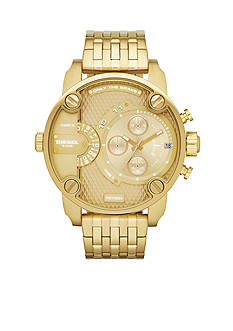 Diesel Men's Gold-Tone Stainless Steel Multi-Function Watch