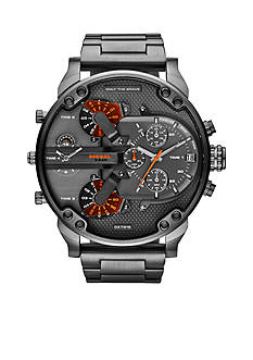 Diesel Men's Gunmetal Stainless Steel Multimovement Watch