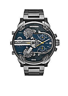 Diesel Mr. Daddy 2.0 Gunmetal IP Stainless Steel Multifunction Watch