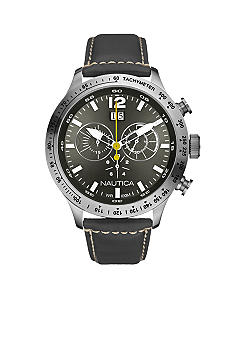 Nautica Chronograph Grey Dial Watch