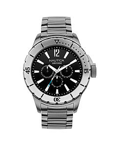 Nautica Multifunction with Stainless Steel Bracelet Watch