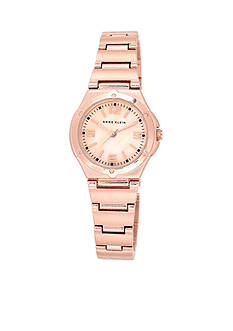 Anne Klein Rose Gold-Tone with Mother of Pearl Dial Watch