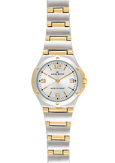 Anne Klein Two-Tone Round Bracelet Watch