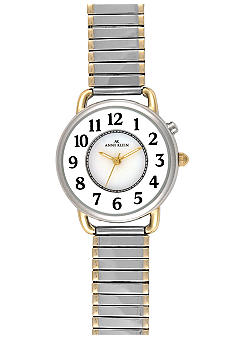 Anne Klein Ladies Easy Read Watch with Expansion Bracelet