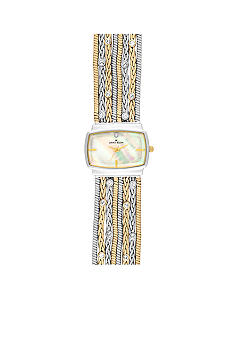 Anne Klein Fashion Metal Chain Bracelet Watch<br>