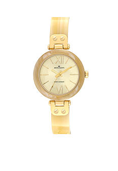 Anne Klein Horn Bangle Watch