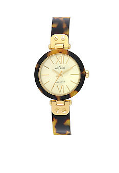 Anne Klein Tortoise Bangle Watch