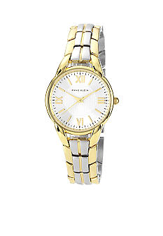 Anne Klein Basic Two-tone Link Watch