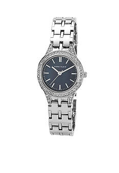 Anne Klein Ladies Silver Tone Dress Watch