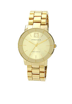 Anne Klein Sunray Ladies Goldtone Bracelet Watch