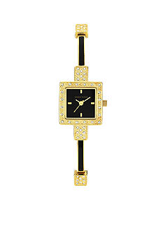 Anne Klein Crystal Bangle Watch