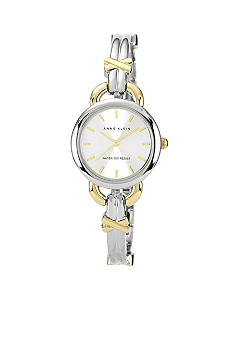 Anne Klein Two-Tone Bangle Watch