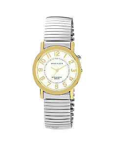 Anne Klein Two-Tone Expansion Band Watch