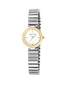 Anne Klein Petite Two-Tone Expansion Band Watch