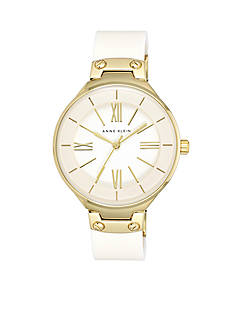 Anne Klein Women's Ivory Bangle Watch