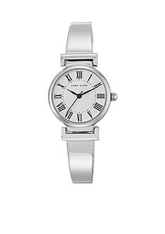 Anne Klein Women's Silver Roman Bangle Watch