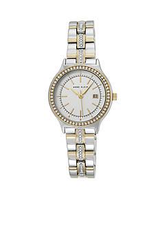 Anne Klein Women's Two-Toned Crystal Watch