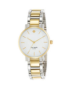 kate spade new york® Two Tone Gramercy Watch