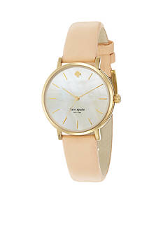 kate spade new york® Classic Gold-Tone Metro Watch