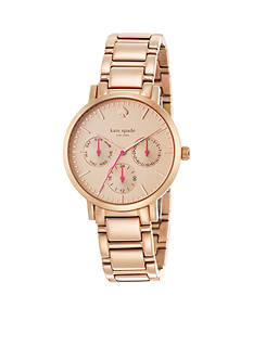 kate spade new york® Gramercy Bracelet Chronograph Watch