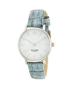 kate spade new york® Light Gray Metro Watch