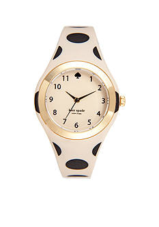 kate spade new york Beige and Black Rumsey Watch