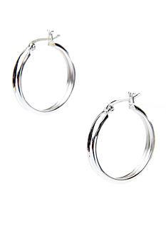 Belk Silverworks Silver 100 Hoop Earring