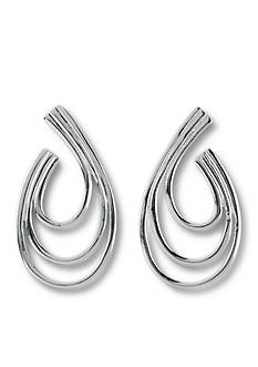 Belk Silverworks Pure 100 E Coat Drop Earrings