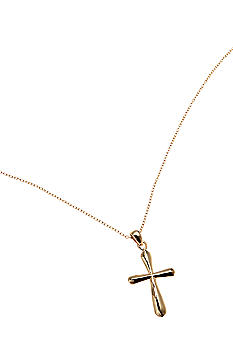 Belk Silverworks Cross Pendant Necklace