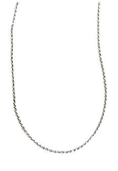 Belk Silverworks Silver 100 Diamond Cut Rope Chain