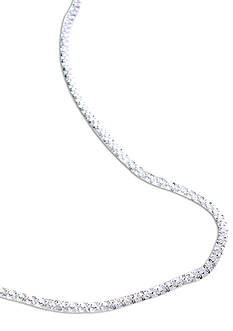 Belk Silverworks 18-in. Silver 100 Fancy Rolo Chain