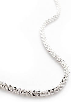 Belk Silverworks Silver 100 24-in. Fancy Rolo Chain