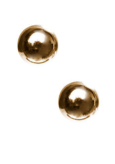 Belk Silverworks 24k Gold Over Silver Earrings