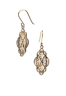 Belk Silverworks Filigree Drop Earring