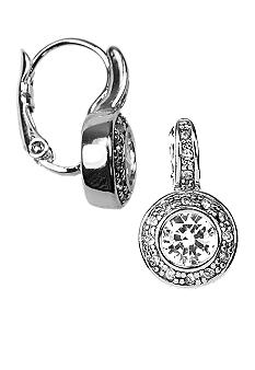 Givenchy Crystal Bezel Set Stud Earring