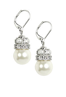 Givenchy Simulatedl Pearl Drop Earring