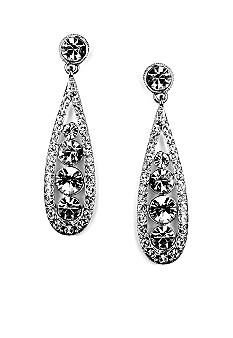 Givenchy Drop Crystal Earring