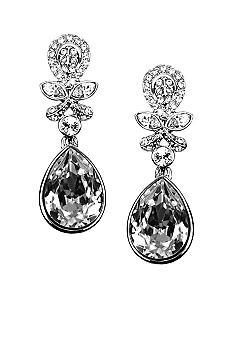 Givenchy Crystal Clip Drop Earring
