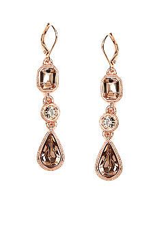 Givenchy Rose Gold Drop Earring