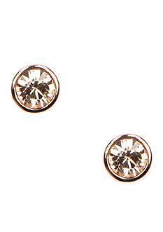 Givenchy Rose Gold Tone Stud Earrings