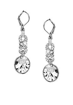Givenchy Medium Drop Crystal Earring