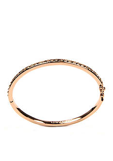 Givenchy Rose Gold Tone Bangle Bracelet
