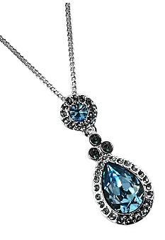 Givenchy Aqua Tear Drop Pendant