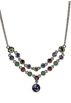 Givenchy Purple Multi Frontal Necklace
