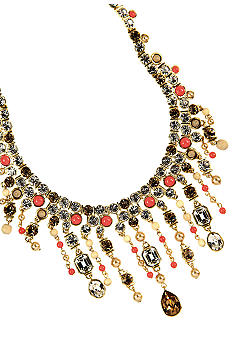 Givenchy Coral Drama Necklace