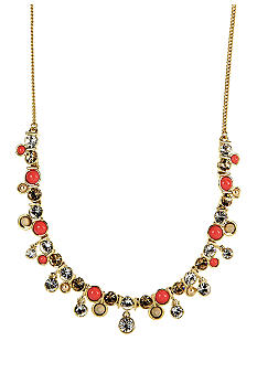 Givenchy Coral Frontal Necklace