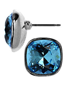 Givenchy Aqua Button Earring