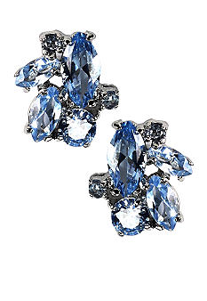 Givenchy Sapphire Cluster Earring