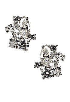 Givenchy Cubic Zirconia Cluster Earring